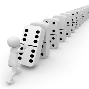 Zauber des Dominoeffektes